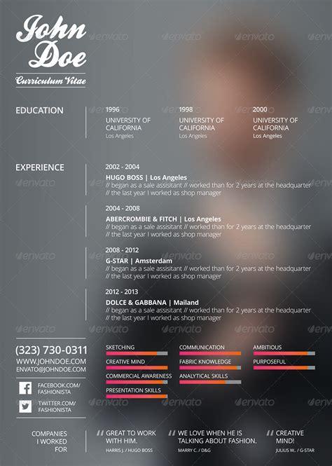 Business english resume