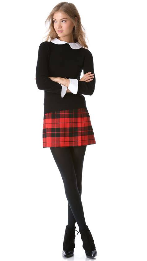 The evolution of plaid skirts - AcetShirt