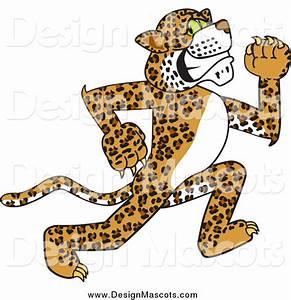 Illustration of a Cheetah, Jaguar or Leopard Mascot ...