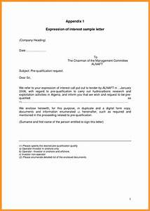 Expression of interest letter sample bio letter format for Cover letter expressing interest in company