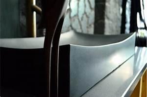 Grande Vasque à Poser : grande vasque en pierre noire to ji shadow poser 70x40 ~ Dailycaller-alerts.com Idées de Décoration