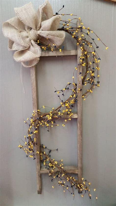Best Images About Primitive Ladder Ideas Pinterest