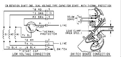 Dayton Motor Needs Reversed Wiring Diagram