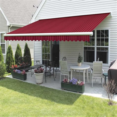 Retractable Awning by Awnings Retractable Uv Protection Liberty Door