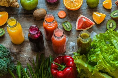 juice vegetables fruits ten health