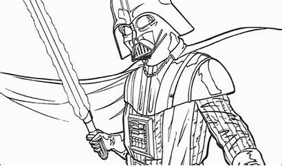 Vader Darth Coloring Lego Pages Wars Star