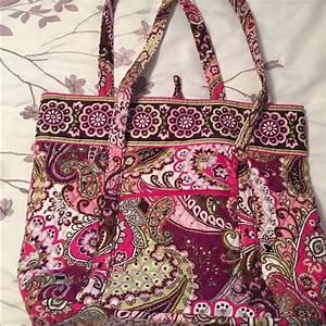 Vera Bradley Bags Vera Bradley Vera Tote Very Berry