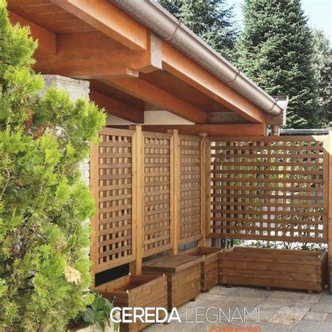 vasi per terrazzi vasi fioriere e grigliati in legno cereda legnami