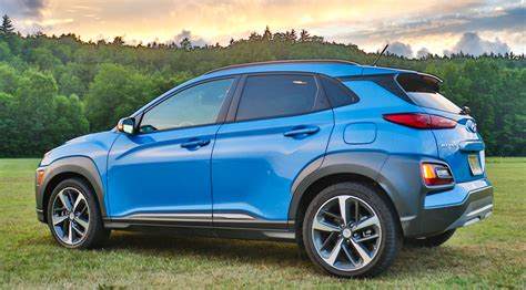 2020 Kia Soul Vs Hyundai Kona by 2018 Hyundai Kona Review Standout New Subcompact Suv