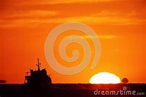 Bright big sun