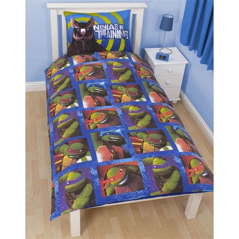 Turtle Bedroom Set by Mutant Turtles Bedding Single Duvet Cover