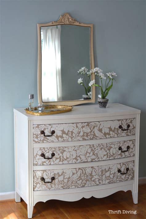 vintage dresser makeover ideas   surprise