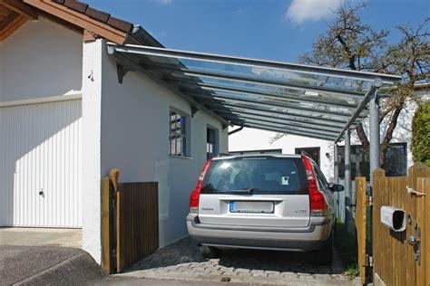 Vordächer, Überdachungen, Carports  Metallbau München
