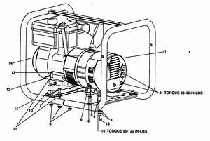 Devilbiss Model Cgtp3000 Generator Genuine Parts