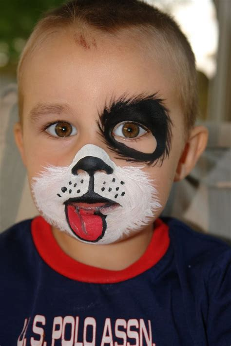 face painting ideas  pinterest paintings easy cute puppy