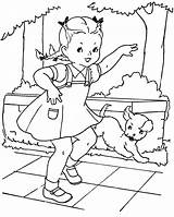 Coloring Pages Hopscotch Paint Embroidery Books Favorite Patterns Colouring Qisforquilter Playing Christmas Boys Quilter Painted Children Sheets Doll Adult Scotch sketch template
