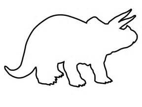 Triceratops Outline Clip Art
