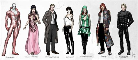 E Janin Artist Exclusive Justice League Dark Lineup And Character Designs