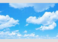 Blue sky background with a tiny clouds Altura Elementary