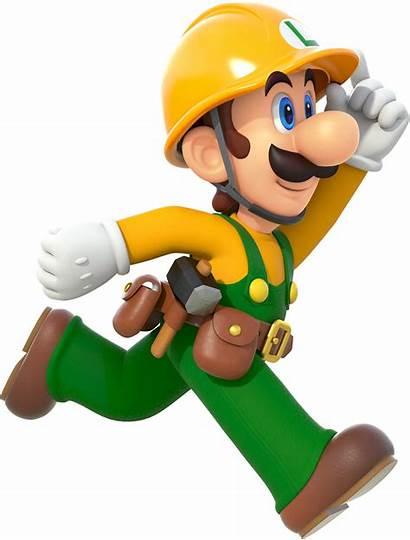 Luigi Mario Colors Cool Smash Builder Yeah