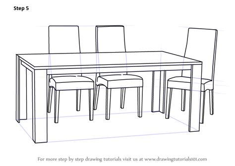 30 folding stool learn how to draw dining table with chairs furniture