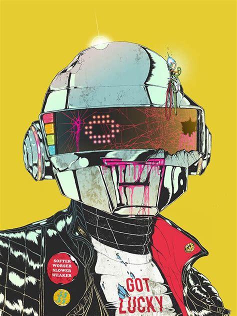 Daft punk | Punk art, Cyberpunk art, Futuristic art