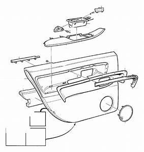 Volvo V90 Clip  Exec  Parts Door Panel   Left  Right  Rear