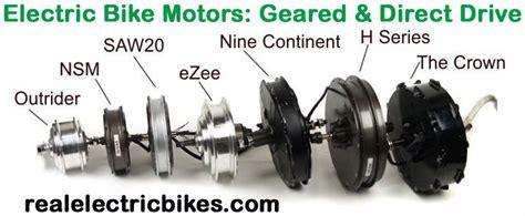 36 Volt & 48 Volt Electric Assist Bicycle Motor Conversion