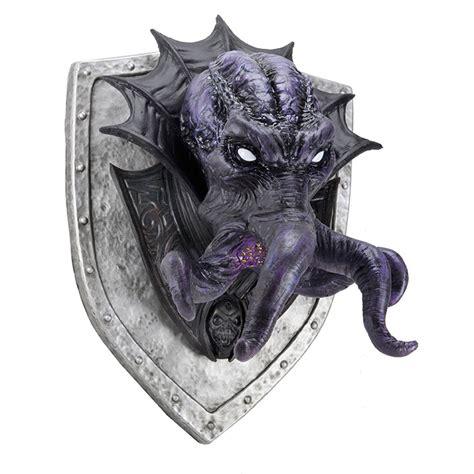 Dungeons & Dragons Mind Flayer Trophy Plaque   WizKids