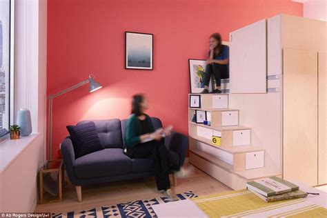 tiny microflat design  unveiled  sq ft space