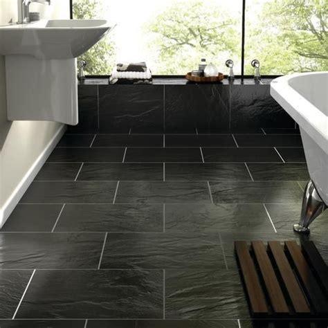 black slate flooring 40 black slate bathroom tile ideas and pictures