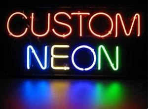 Give me a SIGN Custom Neon Signs are Business's Way to