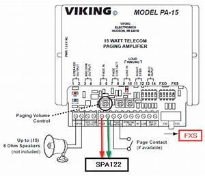 Viking Pa-15 Overhead Paging System Configuration