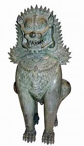 Shinga Lion - Foo - #Dragon #dog #guards. Khmer. In ...