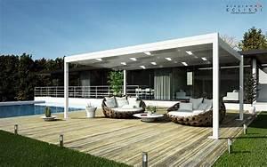 Freistehende terrassenuberdachung aus aluminium weave by for Freistehende terrassenüberdachung