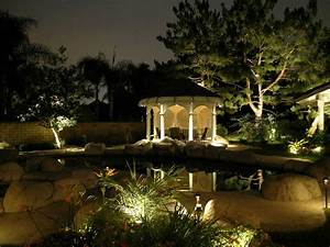 alpine landscape lighting by artistic illumination With outdoor illuminations garden lighting