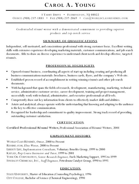 Resume For Former Business Owner by Sle Resume Of Former Business Owner