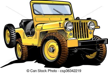 Retro Jeep Really Great Vector Drawing Of Offroad Willy 39 S