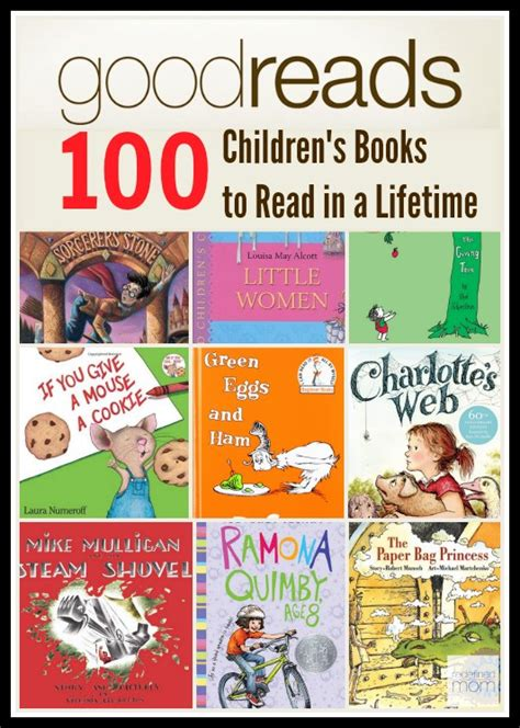 goodreads 100 best children books to read in a lifetime 100 | Goodreads 100 childrens books to read in a lifetime