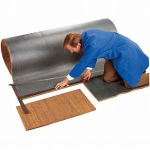 tapis brosse coco sur mesure epaisseur 23 mm naturel With tapis brosse à la découpe