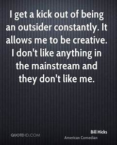 Being An Outsider Quotes. QuotesGram