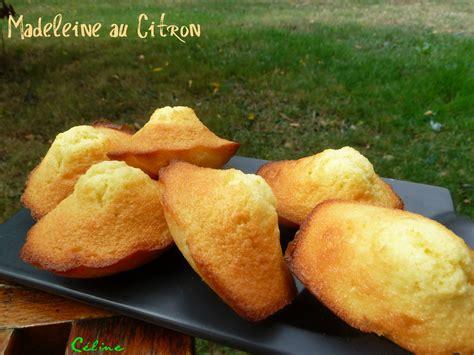 madeleines au citron les plaisirs de céline