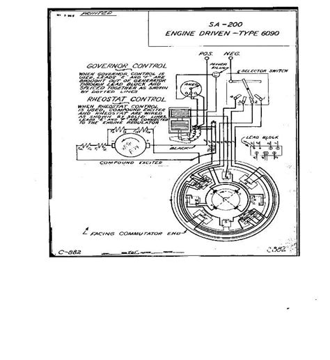Wiring Diagram For Lincoln Sa 200 Welding Machine by Lincoln Sa200 Wiring Diagrams Lincoln Sa200 Wiring