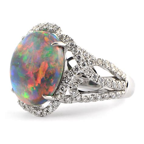 Lightning Ridge Black Opal Ring  White Gold  Wixon Jewelers. Glass Engagement Rings. Famous Designer Engagement Rings. Saints Necklace. Oval Eternity Band. Wide Platinum Wedding Band Womens. Bauble Necklace. 925 Silver Earrings. Toddler Ankle Bracelet