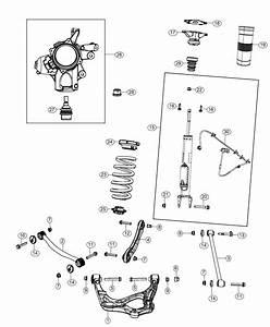 2018 Jeep Grand Cherokee Shock Absorber Kit  Suspension  Rear  Right   Rear Suspension Damper