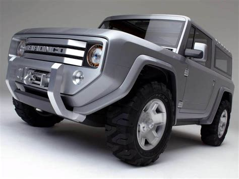 bronco prototype wallpapers ford bronco concept car wallpapers
