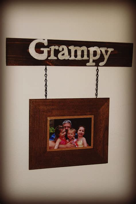 cool diy rustic photo frames shelterness