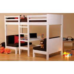 quiz wooden single bunk bed frame