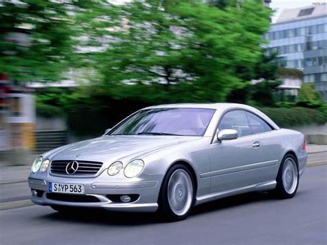 Mercedes Benz CL55 AMG (2000) Auta na plochu, tapety na ...