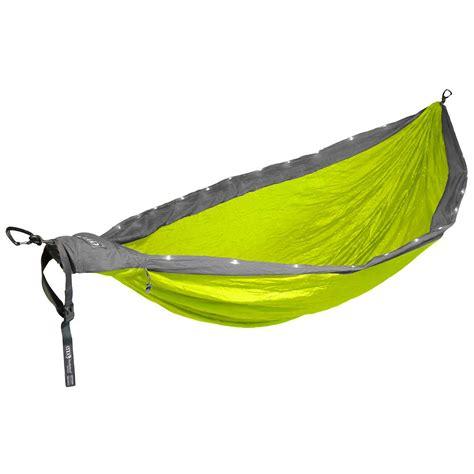 eno doublenest hammock review eno nest led hammock at nrs